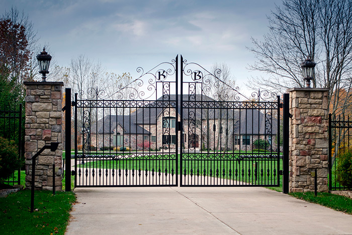 Metal Gates with Access Control
