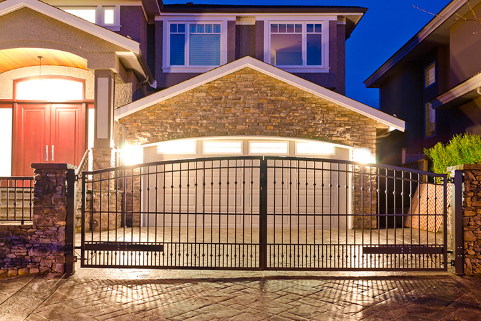 Metal Swing ELectric Gates